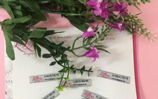 ®La Lopez ontwerpt eigen lingerie labels met confectiemaat en cup-maat in een.