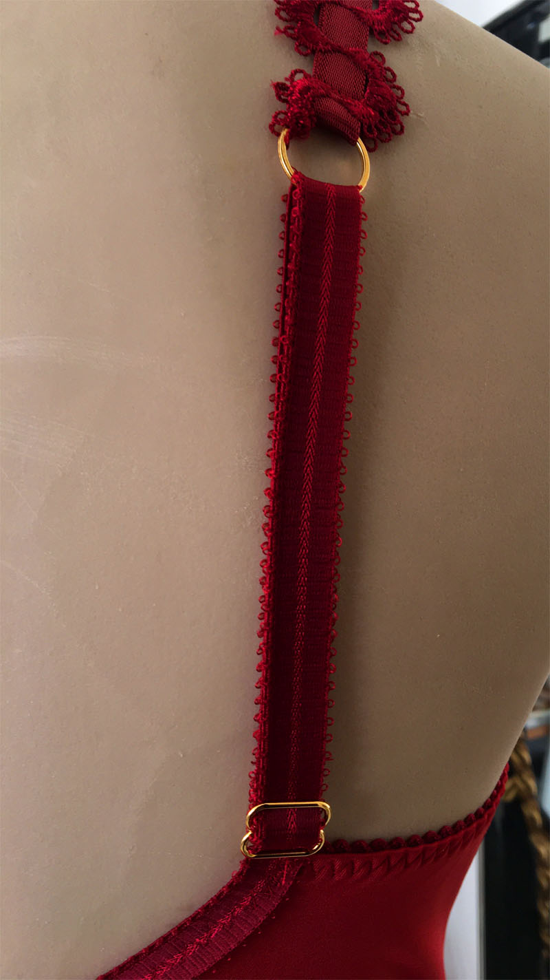 Bodystocking schouderband