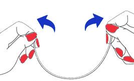 Beugels half-asymmetrisch