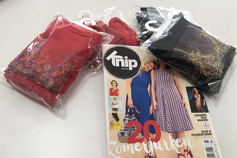 Lingerie package red mix-black mix