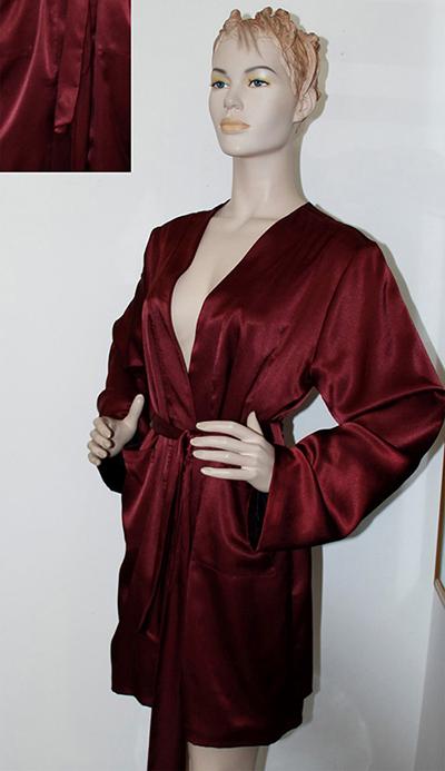 Kimono Bordeaux B00241