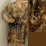 Kimono silk-Renaissance D00121