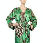 Kimono groen mix tijgerprint