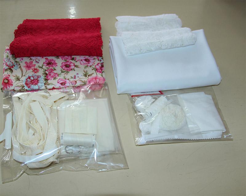 Lingerie pakket floral 2